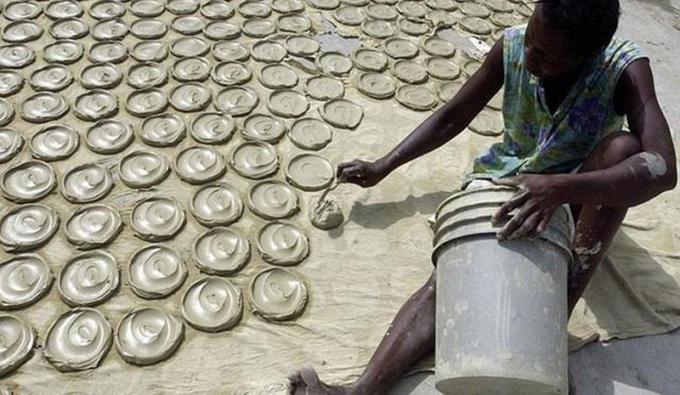 Bánh quy bùn ở Haiti