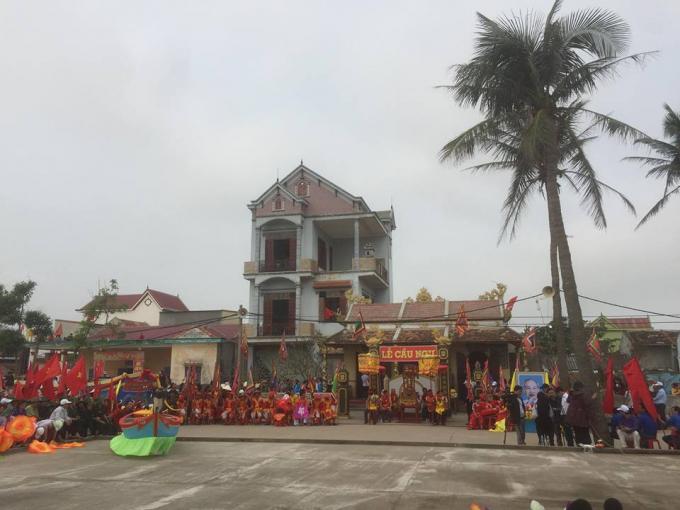 Lễ Cầu Ngư của người dân Cảnh Dương mang đậm nét văn hóa đặc sắc độc đáo riêng biệt. (Ảnh: Phan Ba)