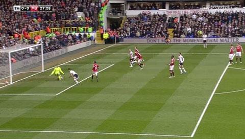 Trực tiếp Tottenham 3-0 Man Utd: