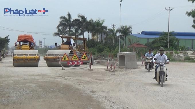 Đối với một số gói thầu xây lắp đoạn qua Hải Dương đã đượcBộ Giao thông vận tảigia hạn tiến độ thực hiện đến ngày 31/8/2016. Tuy nhiên khả năng tiếp tục chậm tiến độ là khá cao, bởi cho tới nay công tác GPMT ở đây vẫn rất khó khăn.