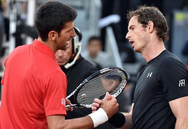 Murray đối đầu Djokovic ở chung kết Roland Garros. (Nguồn: Getty Images).