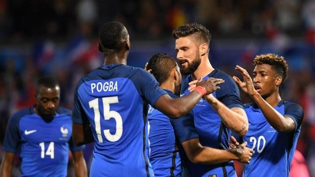 ĐT Pháp đang rất tự tin hướng đến chiến thắng trong ngày ra quân Euro 2016 trước ĐT Romania.