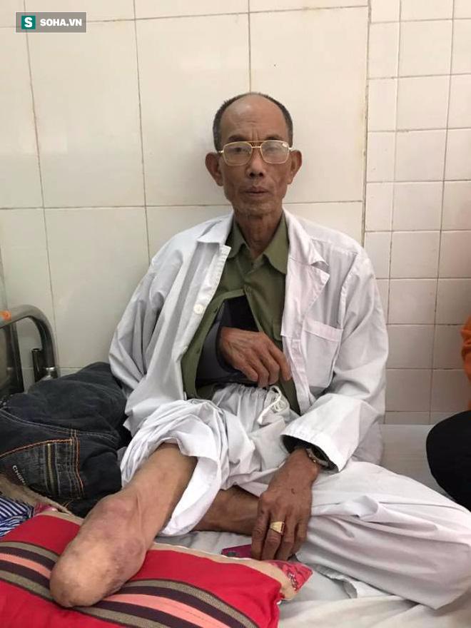 Ông Vin đang được điều trị trong Bệnh việnQuân Y 103, Hà Đông, Hà Nội.