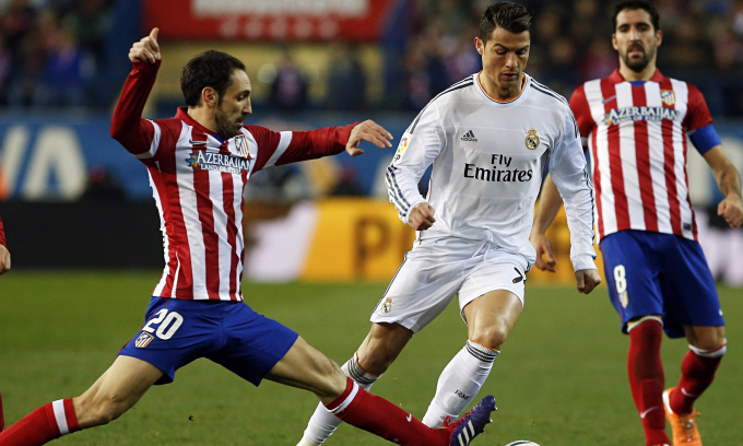 Real Madrid đối đầu với Atletico Madrid tại vòng 31 La Liga sẽ là trận cầu hấp dẫn nhất đêm nay.