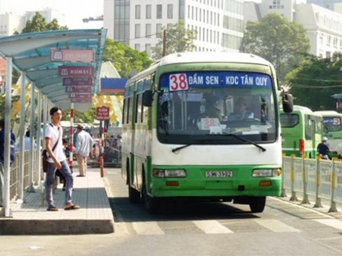 TP Hồ Chí Minh sẽ điều chỉnh mức trợ giá xe buýt học sinh, sinh viên. (Ảnh: Báo giao thông)