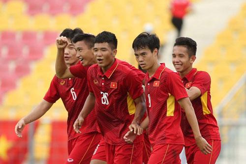 Việt Nam sẽ đối mặt Campuchia ở lượt trận thứ 2 bảng B môn bóng đá nam SEA Game 29.