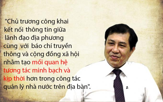 Ngày 27/2/2015, Chủ tịch Huỳnh Đức Thơ đã công bố email của mình với mục đích thực hiện