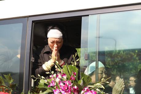 Người thân PGS Văn Như Cương cảm ơn tấm lòng của mọi người dành cho thầy.