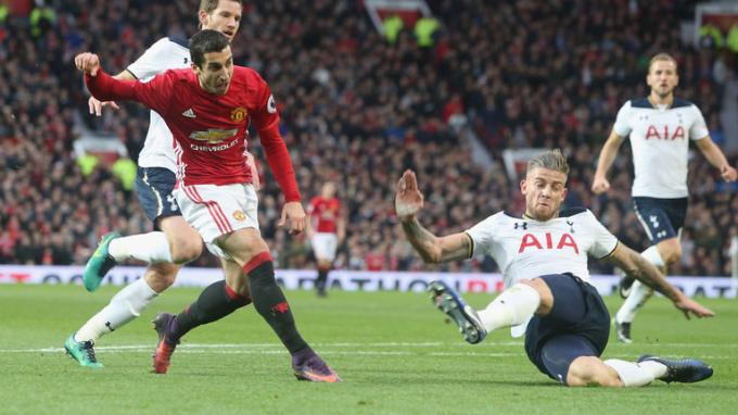 Man United vs Tottenham sẽ là tâm điểm của vòng 10 Ngoại hạng Anh.