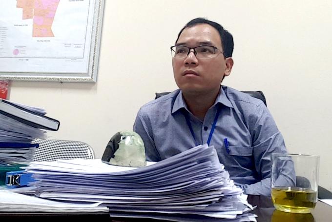 Ông Tống Xuân Duy - Phó chủ tịch UBND phường Dịch Hậu, quận Cầu Giấy, TP Hà Nội.