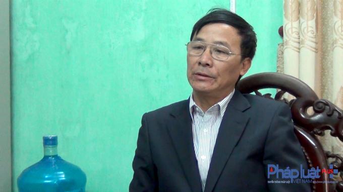 Ông Nguyễn Văn Nghi - Chủ tịch UBNDxã Tân Hưng, Sóc Sơn, TP Hà Nội.
