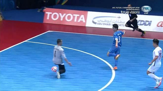 Dù cố gắng nhưng Futsal Việt Nam đã phải dừng bước ở tứ kết VCK châu Á 2018.