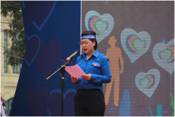 Phát biểu tại lễ phát động, Phó Chủ tịch Thường trực Trung ương Hội Liên hiệp thanh niên Việt Nam Nguyễn Thị Thu Vân khẳng định: