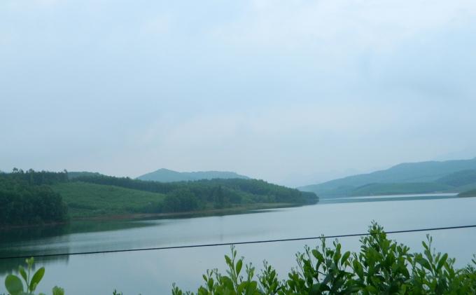 Hồ Phú Ninh, nơi xảy ra tai nạn đuối nước