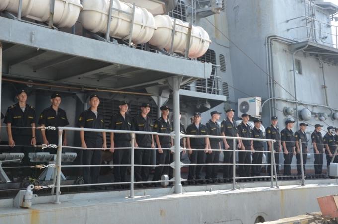 Sĩ quan, thủy thủ đoàn sẽ có nhiều hoạt động giao lưu tại TP. Đà Nẵng.