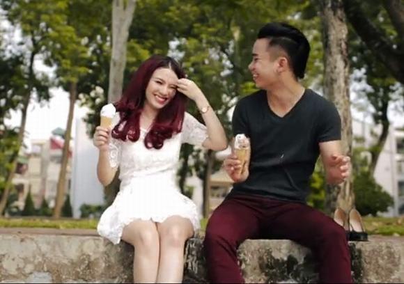 Linh Miu và bạn trai Hữu Công (Ảnh: Internet)