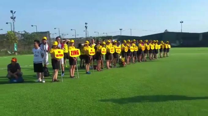 Các đội bóng đã có mặt đầy đủ để tham dự giải đấu.