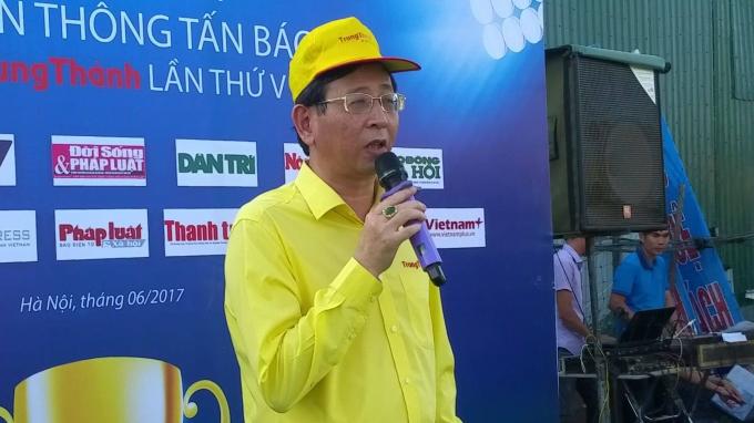 Ông Phí Ngọc Chung - Chủ tịch HĐQT, Giám đốc Cty Trung Thành.