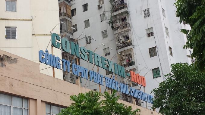 Tổng Công ty Cổ phần Đầu tư Xây dựng và Thương mại Việt Nam (Constrexim Holdings) đang bị cư dân