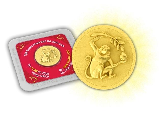 Sản phẩm Kim Thân Lộc của Tập đoàn Vàng Bạc Đá quý Doji.