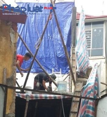 Công trình số 26 Hội Vũ, phường Hàng Bông, quận Hoàn Kiếm hiện trạng ngày 8/7/2016.