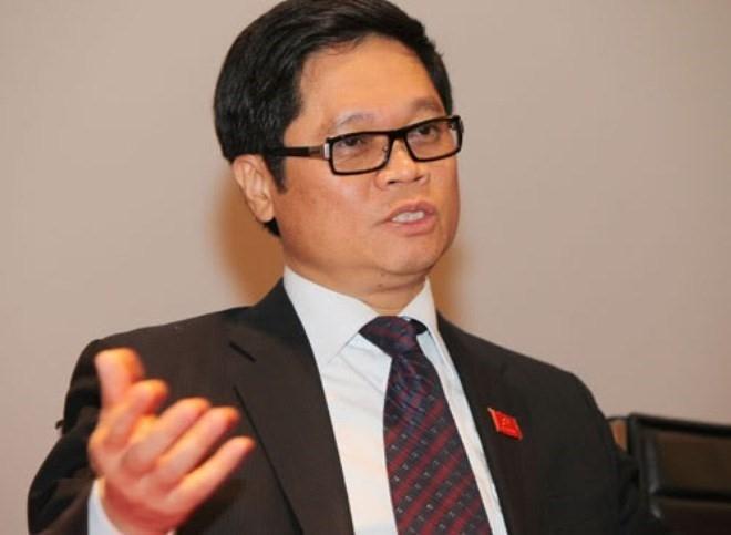 Ông Vũ Tiến Lộc, Chủ tịch VCCI đánh giá nhiều đại gia Việt thời gian qua lăn lộn thương trường, thành công nhờ quan hệ mà không cần phải học hành gì.Ảnh:Infonet.