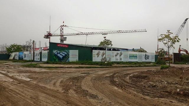 Dự án Khu đô thị thị Thanh Hà – Cienco5 vẫn còn dang dở (ảnh Dân trí).