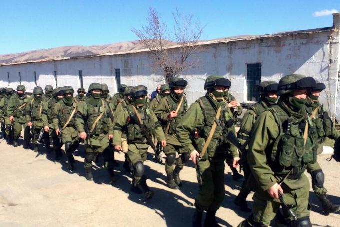 Binh sĩ Nga đồn trú ở Syria - Ảnh: Reuters.