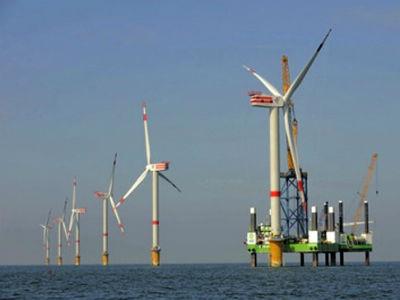 Dự án điện gió Bạc Liêu.