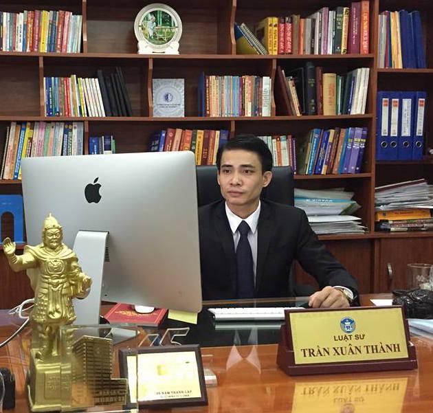 Luật sư Trần Xuân Thành, Công ty Luật Vũ Trần, Đoàn Luật sư thành phố Hà Nội.