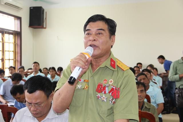 Ông Nguyễn Văn Chiến - Giám đốc Công ty TNHH Chiến Thắng (TP.Sầm Sơn). Ảnh: Hồng Đức