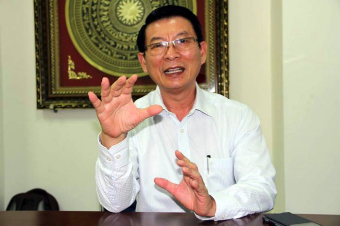 Ông Trần Văn Lĩnh. Ảnh: Cao Nam