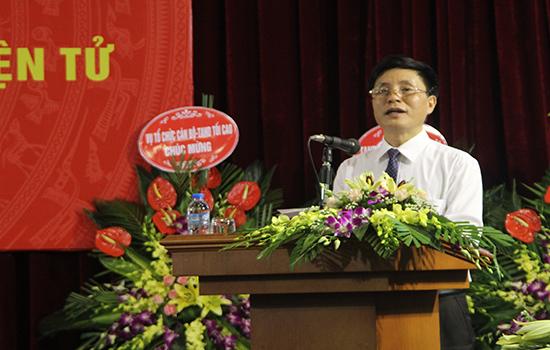 Đồng chí Trần Quốc Việt, Tổng biên tập Tạp chí TAND tiếpthu ý kiến chỉ đạo của Lãnh đạo TANDTC