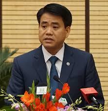 Chủ tịch UBND TP.Hà NộiNguyễn Đức Chung.