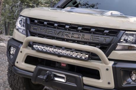 Chevrolet Colorado dã chiến với bản độ cho nhà thám hiểm