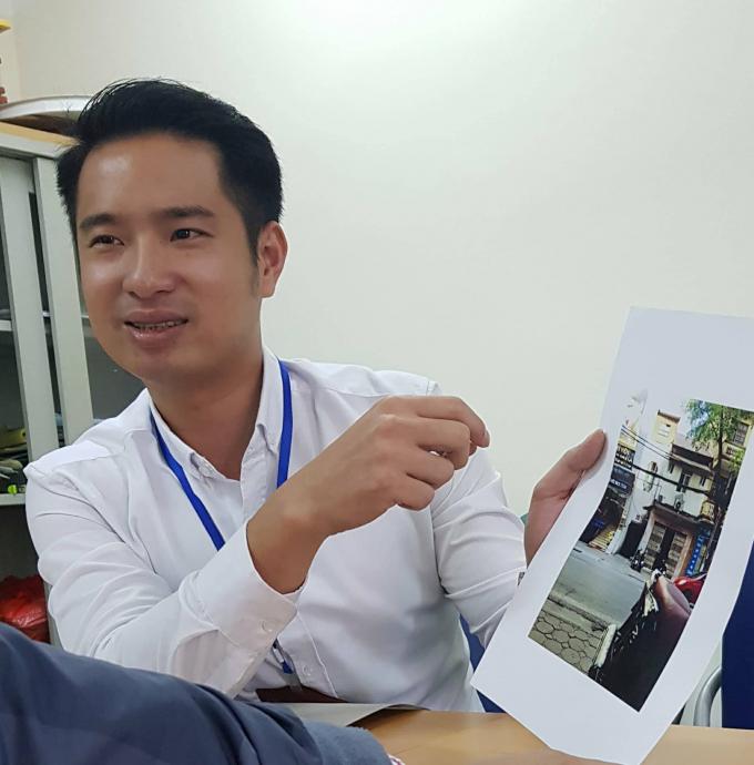 Cán bộ địa chính xây dựng phường Bùi Thị Xuân Nguyễn Đình Tuấn Anh cố tình giải thích theo hướng