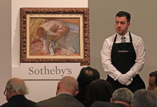 Các tác phẩm của Edgar Degas luôn đạt được mức giá cao khi xuất hiện tại các cuộc đấu giá.