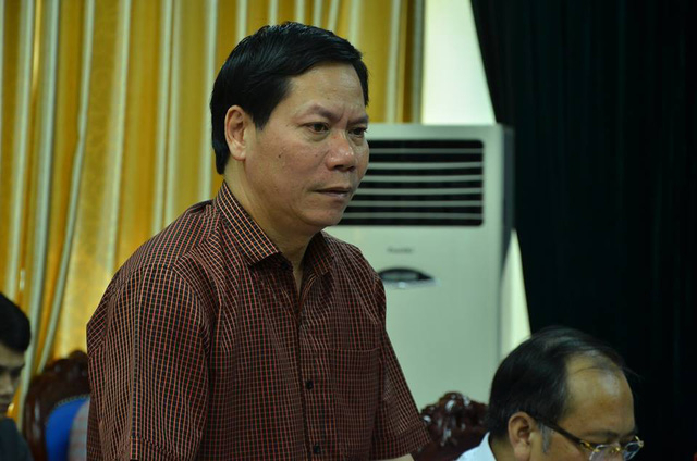 Giám đốc Bệnh viện đa khoa tỉnh Hoà BìnhTrương Quý Dương(Ảnh: PC).