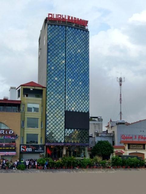 Quán karaoke Hồng Ngọc (Ruby, số 8 đường vòng Hồ Sen quận Lê Chân, TP Hải Phòng) đã từng bị xử lý trước đó mới hoạt động trở lại.