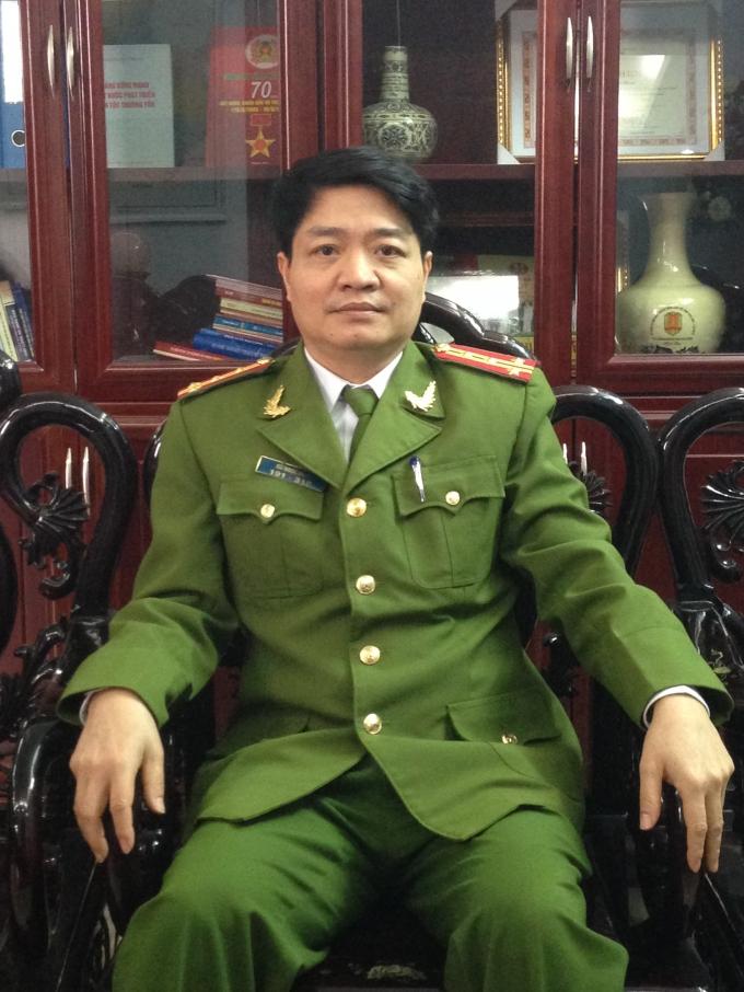Đại tá Cù Ngọc Nam – Trưởng phòng PC45 Công an tỉnh Hải Dương chia sẻ với PV.