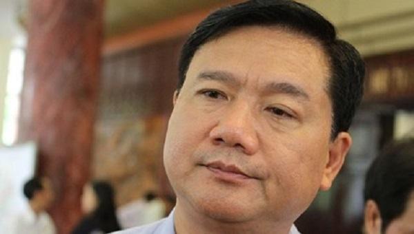 Ủy viên Bộ Chính trị Ban chấp hành Trung ương khóa XII, Bí thư Thành ủy TPHCM Đinh La Thăng -. Ảnh: VGP/Phan Trang.