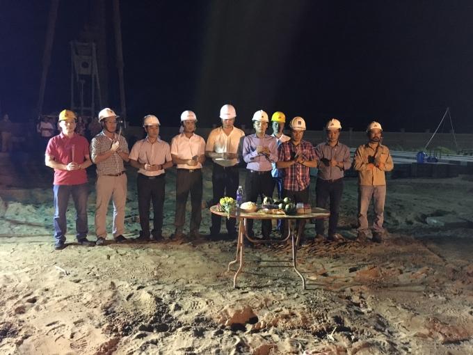 Phát búa đầu xuân nhà máy nhiệt điện Long Phú 1.