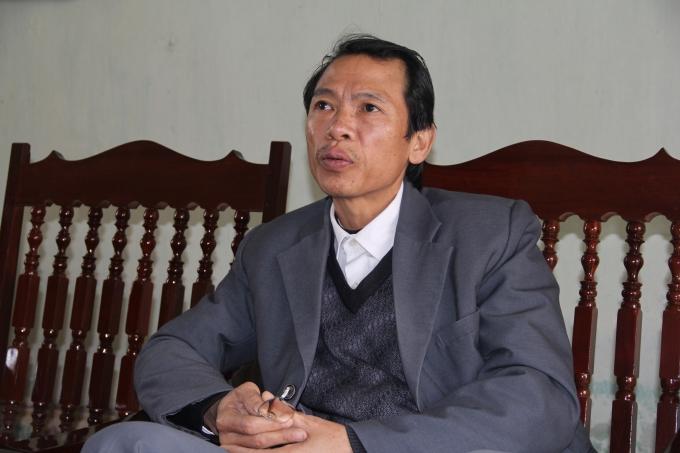 Ông Huỳnh Văn Đán (Chủ tịch xã Đông Cơ) cho rằng UBND tỉnh có quyết định thu hồi đất kết hợp với thuê đất chứ không có quyết định thu hồi đất riêng.