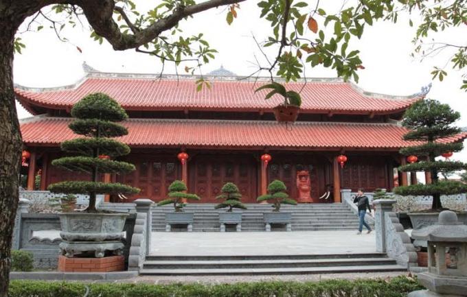Tòa nhà lớn chính ở thủ phủ ''Hòa đại nhân''.