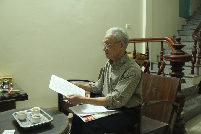 Nhiều năm liền ông Thanh đã làm đơn gửi lên các cấp nhưng sự việc vẫn chưa được giải quyết.