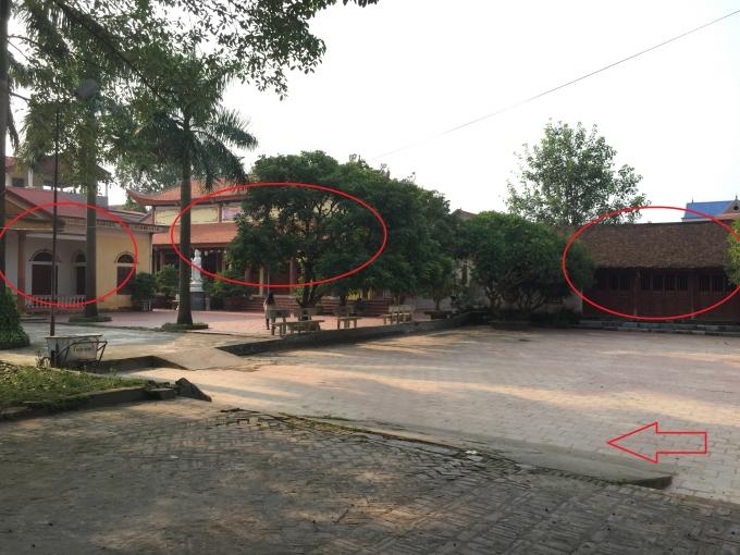 UBND xã cho rằng từ trước đến nay nhà văn hóa, chùa và Đình làng đều đi chung một cổng nên không đồng ý cho chùa mở thêm cổng.