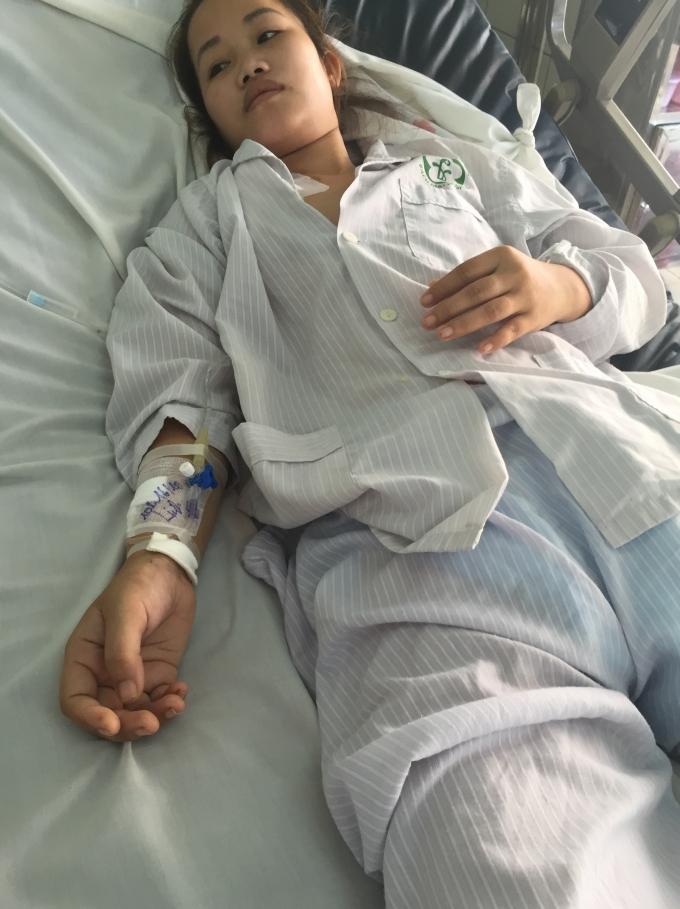 Hiện tại, chị Hiên đang được cấp cứu tại Bệnh viện Bạch Mai, sức khỏe tiến tiển khoảng 50%.