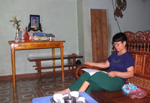 Bà Lê Thị Bình - mẹ nạn nhân Nguyễn Như Quỳnh mong muốn cái chết của con trai được làm sáng tỏ.