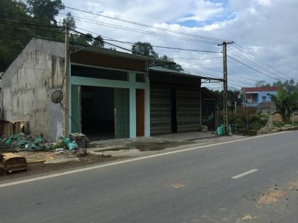 Vị trí xảy ra vụ tai nạn dẫn đến cái chết của anh Nguyễn Như Quỳnh.