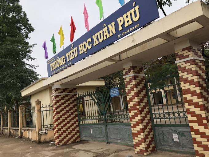 Trường Tiểu học Xuân Phú - Huyện Phúc Thọ.